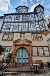 Half-timbered houses