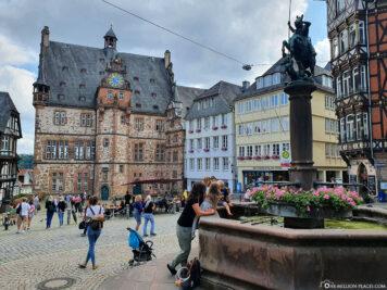 Oberstadtmarkt & Marktbrunnen