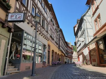 The old town of Miltenberg
