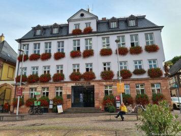 The town hall at Engelplatz