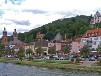 The Banks of the Main in Miltenberg