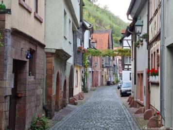 Miltenberg's oldest district