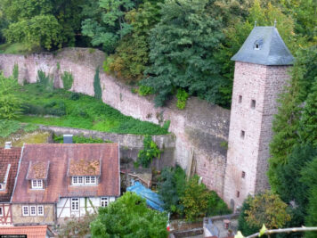 The city wall of Miltenberg