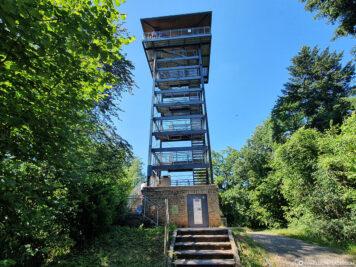 Der 27 Meter hohe Prinzenkopfturm