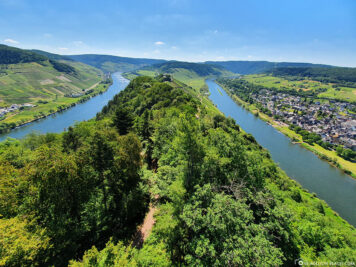 The Moselle Loop near Pünderich