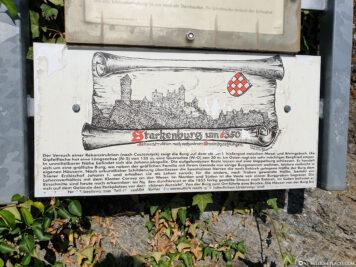 The ruins of the Starkenburg