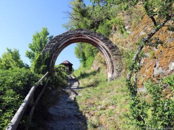 Die Ruine der Starkenburg