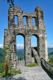 The ruins of the Grevenburg