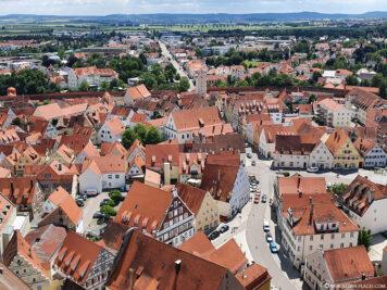 The old town of Nördlingen