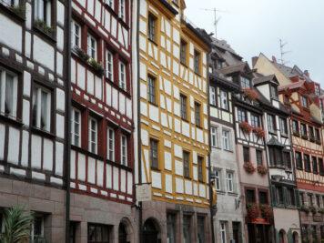 Fachwerkhäuser in der Weißgerbergasse