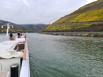 The Rhine near Bingen