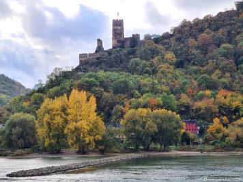 The ruins of Fürstenberg Castle