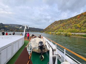 The Rhine near Bacharach