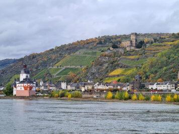The Rhine near Kaub