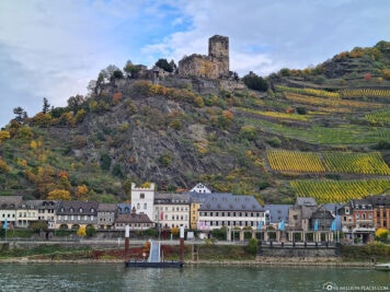 Gutenfels Castle on the Rhine