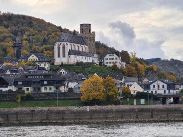 Oberwesel on the Rhine