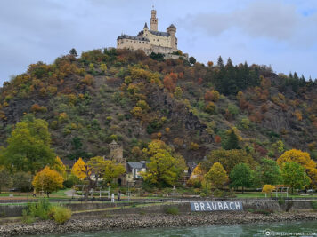 The Marksburg in Braubach