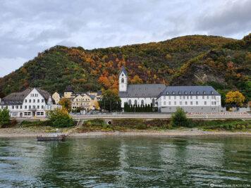 The pilgrimage monastery Of Bornhofen