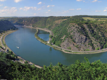 The Upper Middle Rhine Valley at the Loreley