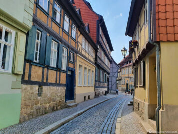 Gassen in Quedlinburg