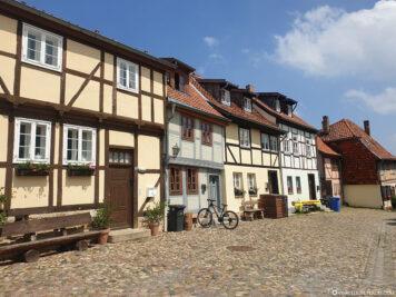 Fachwerkhäuser auf dem Münzenberg