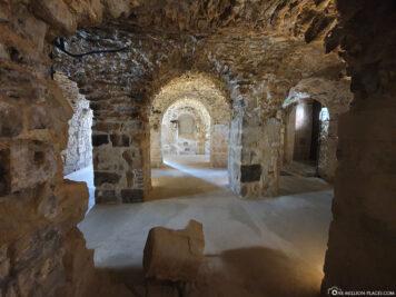 Ruinen der Klosterkirche St. Marien