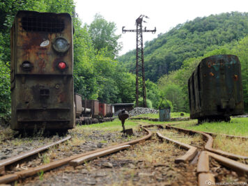 Mine railway