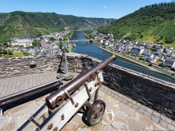 View of the Moselle & the city