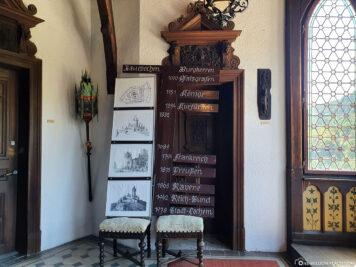 Guided tour through the Reichsburg
