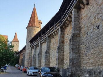 City Wall & Women's Tower