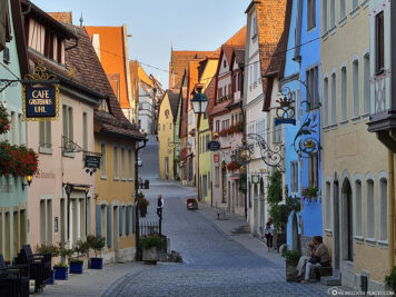 The old town of Rothenburg
