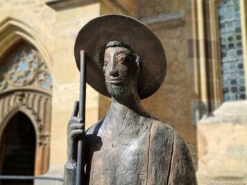 Bronze sculpture of St. James