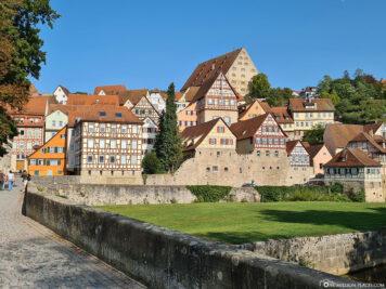 View from the Steinernen Steg