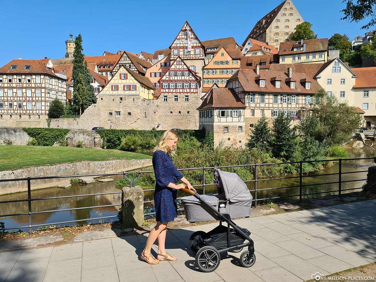 Schwäbisch Hall, Städtetripp, Kinderwagen, Nuna, Reisebericht, Blog