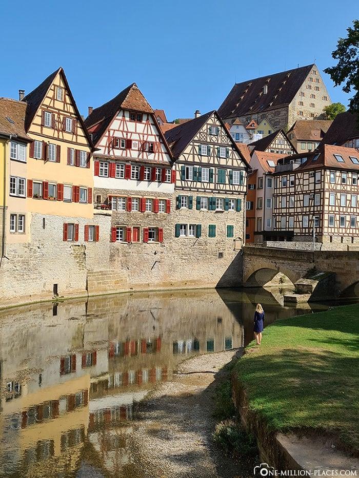 Swabian Hall Sights, Half-Timbered Houses, Scenery, Panorama, Travel Report