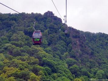 The cable car to Hexentanzplatz