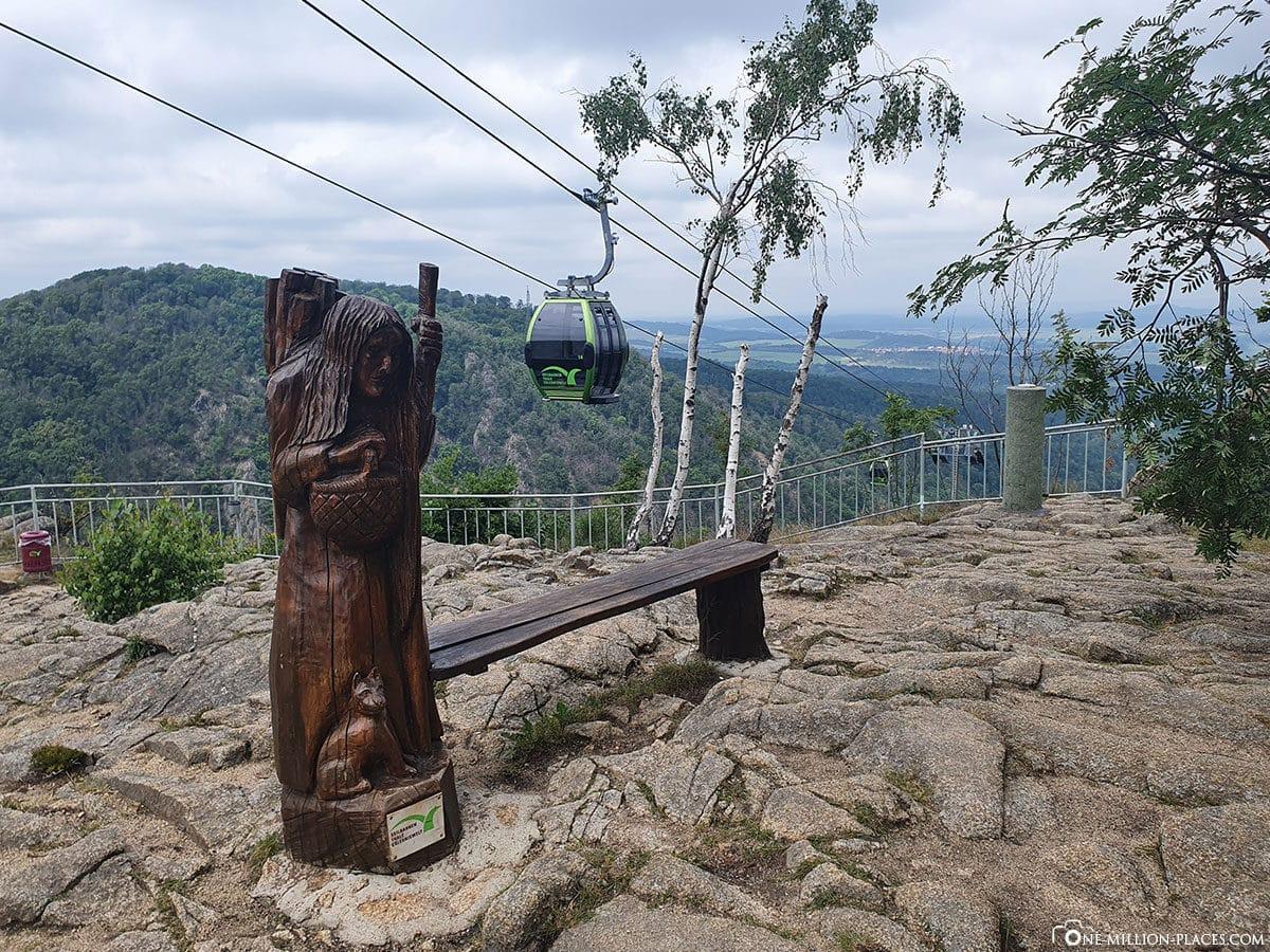 Seilbahnen Thale   Die Hexen  und Erlebniswelt im Harz Deutschland
