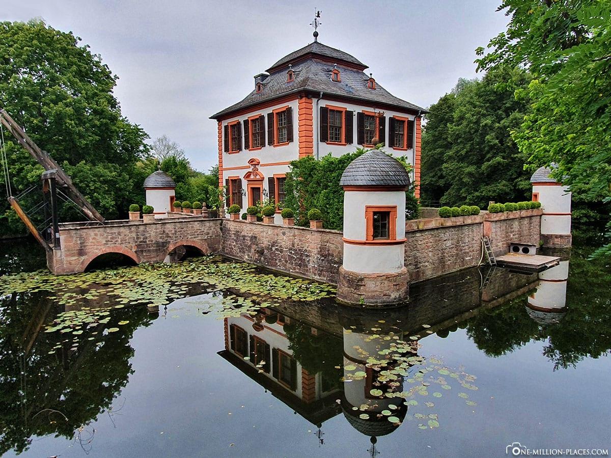 Seligenstadt, Wasserburg Klein-Welzheim, Sehenswürdigkeiten, Reisebericht, Blog
