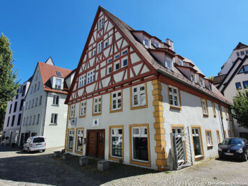 Half-timbered houses in Ulm