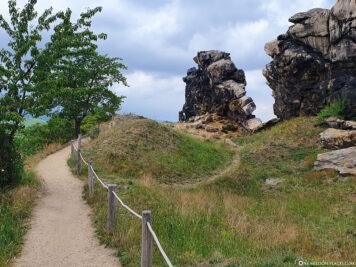 Teufelsmauer Königstein
