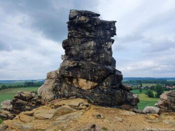 Felsformationen Königstein