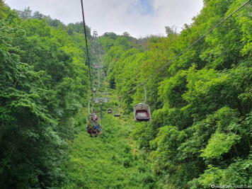 The chairlift to the Rosstrappe