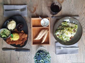 Food in the Waldschlösschen