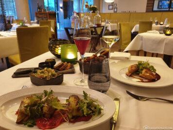 Food in the Marburg dining room