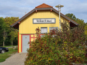 Old Volkach station (Main)