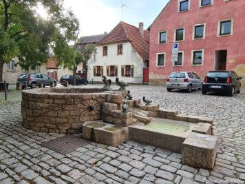 The Goose Fountain