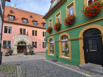 The old town of Volkach