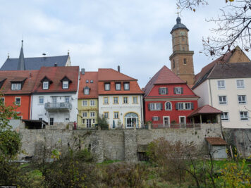Remains of the old city wall