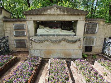 Grab der Familie von Goethe
