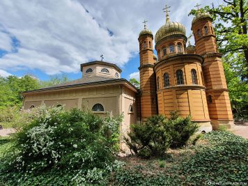 Fürstengruft &  Russisch-Orthodoxe Kirche